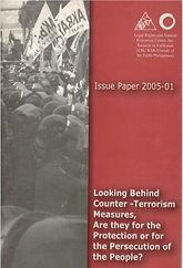 Looking Behind Counter-Terrorism Measure