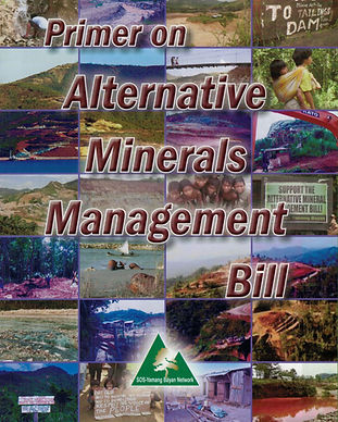 PRIMER ON ALTERNATIVE MINERALS MANAGEMEN