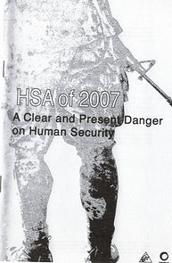 HSA of 2007_ A Clear and Present Danger