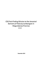 CSO Fact-Finding Mission to the Ancestra