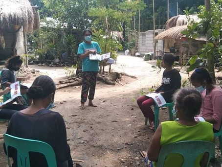 LRC distributes COVID-19 info booklets to Indigenous communities
