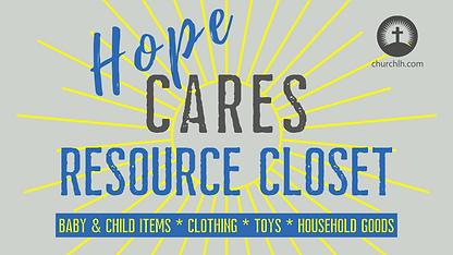 Hope Cares Resource closet slide.png