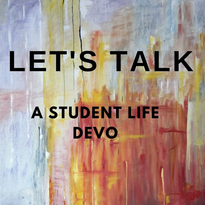 Let's Talk Week 3