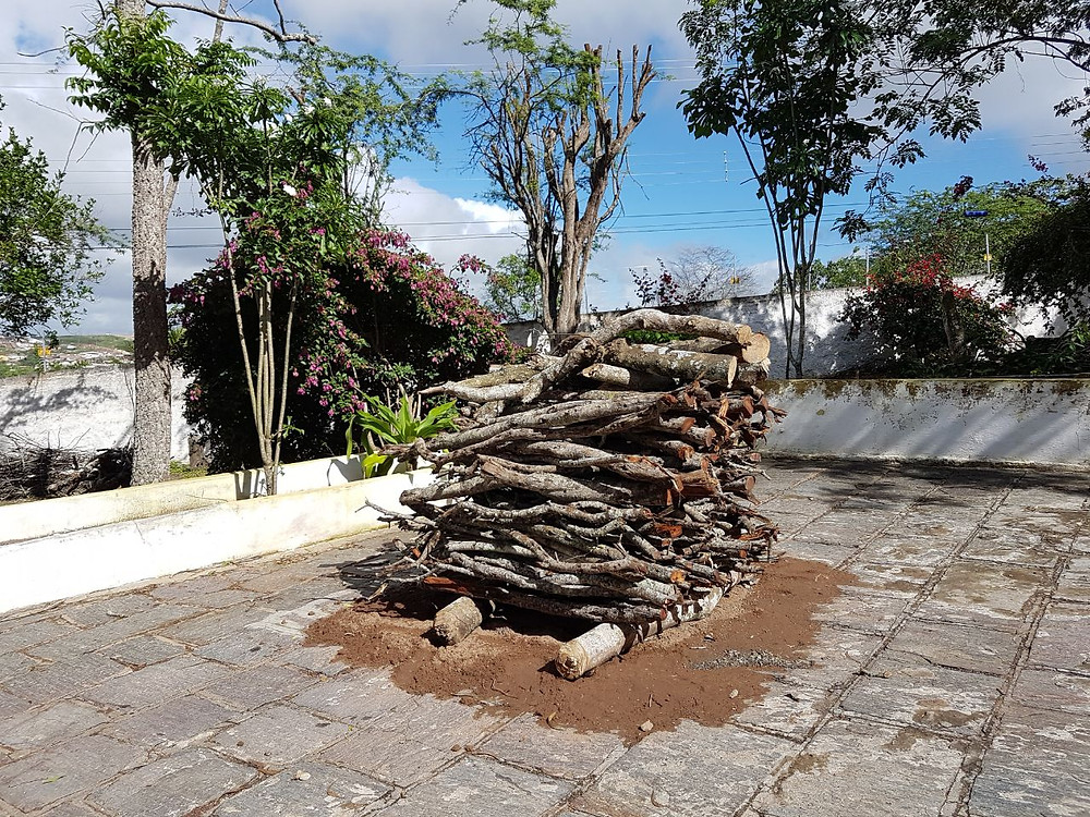 Fogueira do Quilombo dos Barbosa. Foto: Thiago Barbosa