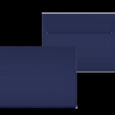 "Kuvert ""Glimmerglanz Nachtblau"" 190x150"