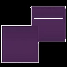 """Kuvert """"Glimmerglanz Violette"""" 160x160"""