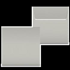 "Kuvert ""Grau"" 160x160"