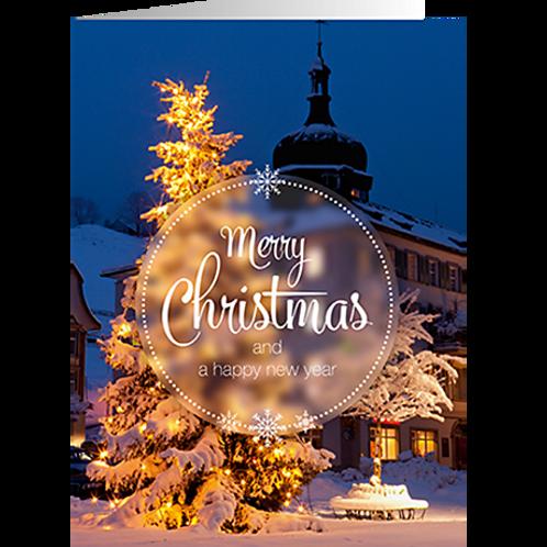 Weihnachtskarte Artikel #8859