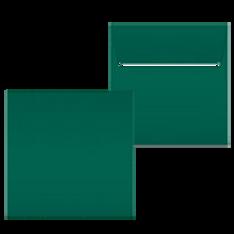 """Kuvert """"Tannengrün"""" 160x160"""