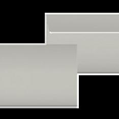"Kuvert C5 ""Grau"" 229 x 162 mm."