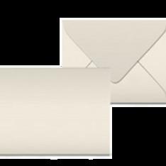 """Kuvert """"Glimmerglanz Elfenbein"""" 190x150"""