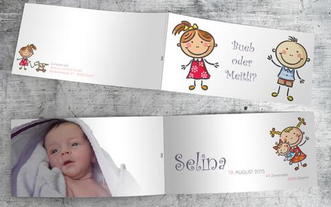 Geburtskarte_Selina