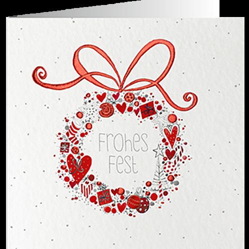 Weihnachtskarte Artikel #8817