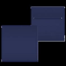 "Kuvert ""Glimmerglanz Nachtblau"" 160x160"