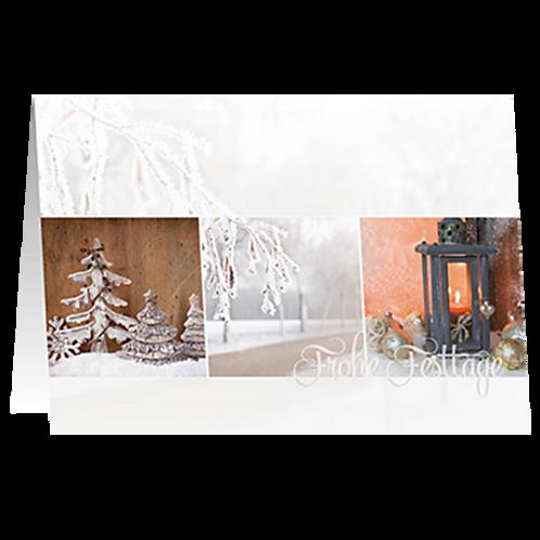Weihnachtskarte Artikel #8860