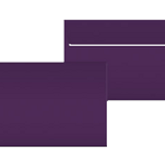 "Kuvert ""Glimmerglanz Violette"" C5"