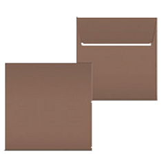 "Kuvert ""Braun"" 160x160"