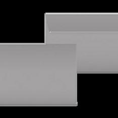 "Kuvert ""Glimmerglanz Silber"" C5"