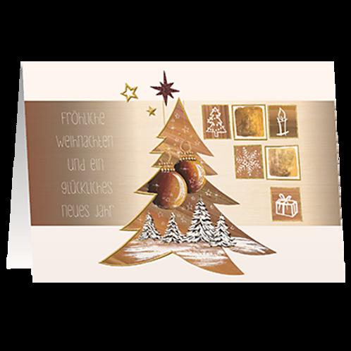 Weihnachtskarte Artikel #8819