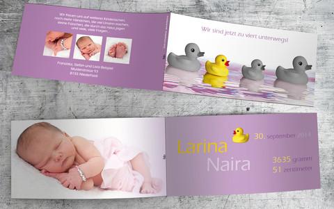 Geburtskarte_Larina