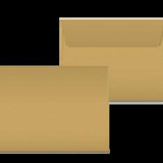 """Kuverts """"Glimmerglanz Blattgold"""" 190x150"""