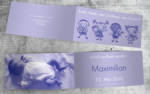 Geburtskarte_Maximilian