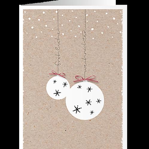 Weihnachtskarte Artikel #8897
