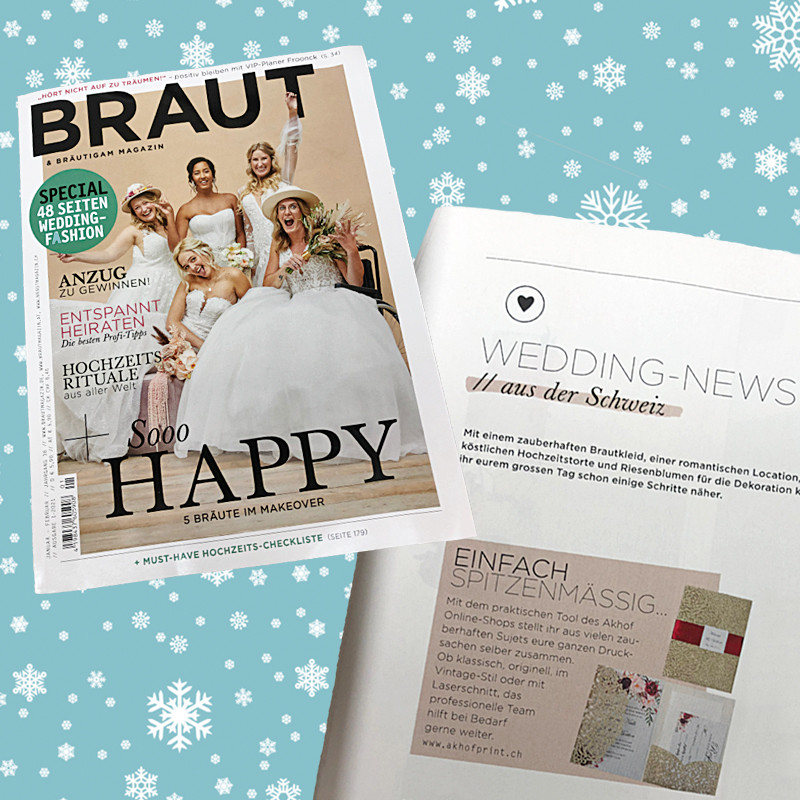 22. Dezember 2020 von AKHOF-Print AG