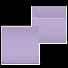 """Kuvert """"Lavendel"""" 160x160"""