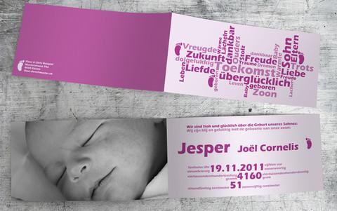Geburtskarte_Jesper