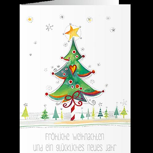 Weihnachtskarte Artikel #8818