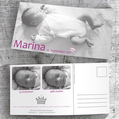 Babykarte_Marina
