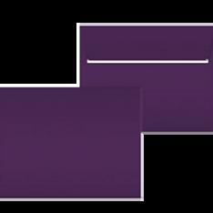 """Kuvert """"Glimmerglanz Violette"""" 190x150"""