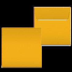 "Kuvert ""Gelb"" 160x160"