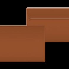 "Kuvert ""Glimmerglanz Kupfer"" C5"
