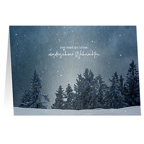 Weihnachtskarte Artikel #8938