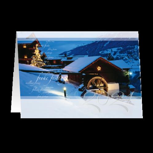 Weihnachtskarte Artikel #8368