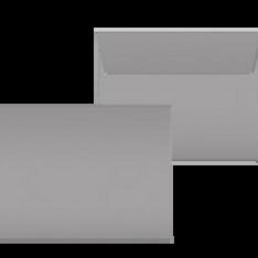 """Kuverts """"Glimmerglanz Silber"""" 190x150"""