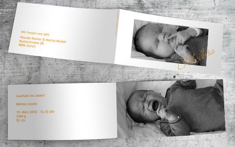 Geburtskarte_Melissa