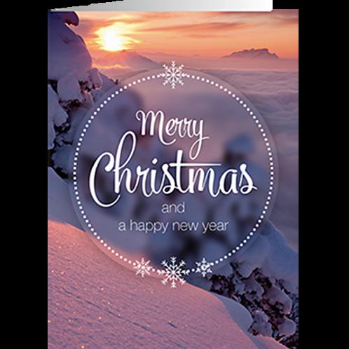 Weihnachtskarte Artikel #8153