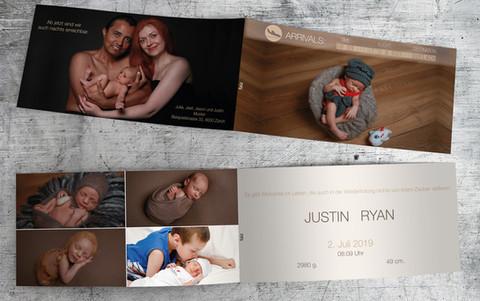 Geburtskarte_Justin