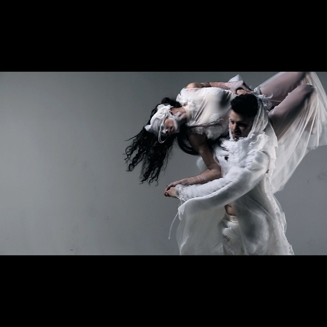 Engulfed choreo by emIMOTION (Julia Cosentino and Emilio Colalillo)  Video for Fashion Art Toronto 2