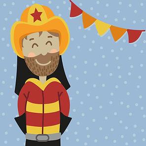 Geburtstags Weiterleitung Feuerwehr mit