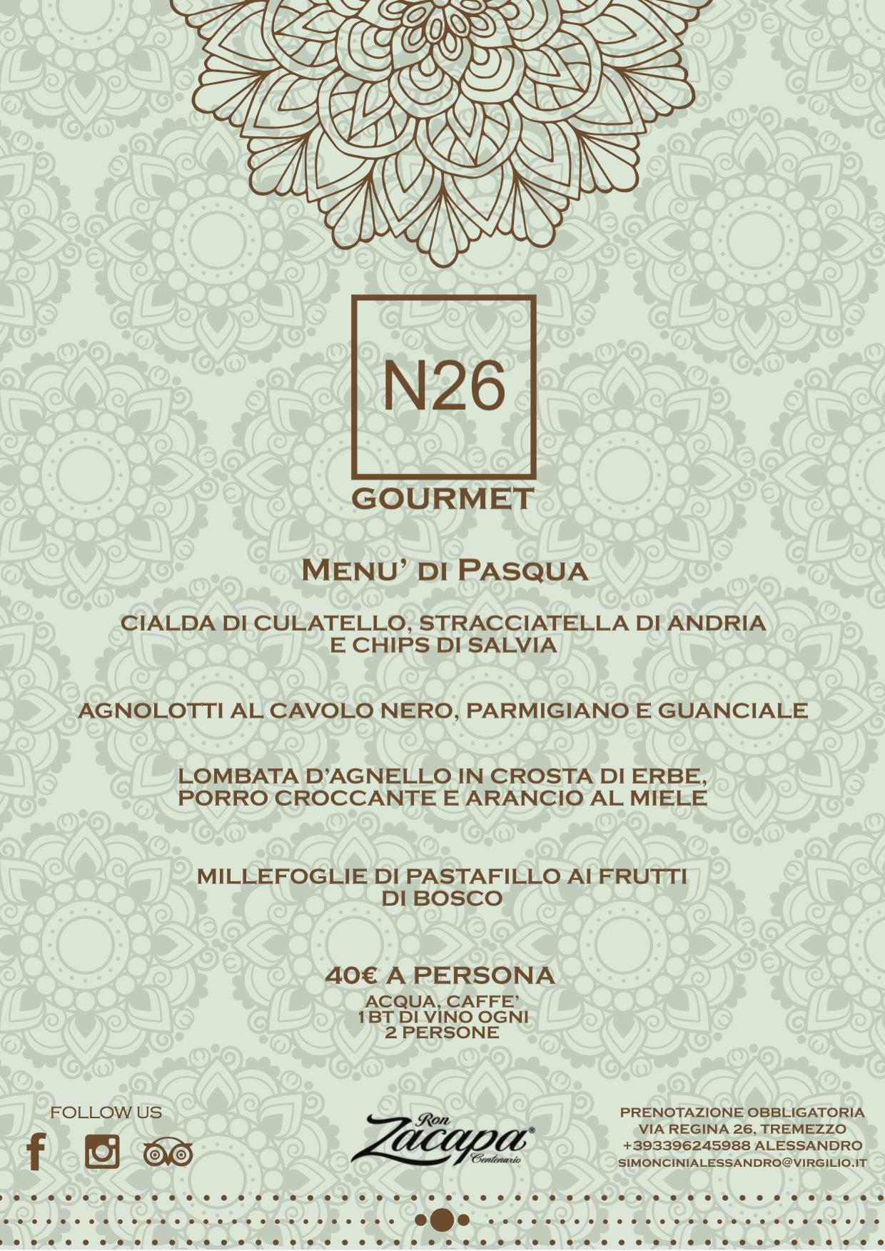 N26 Restaurant Tremezzo