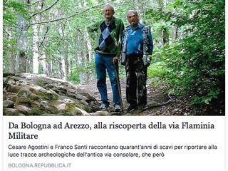Da Bologna ad Arezzo, alla riscoperta della via Flaminia Militare