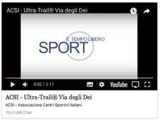 ACSI - Associazione Centri Sportivi Italiani - Ultra-Trail® Via degli Dei