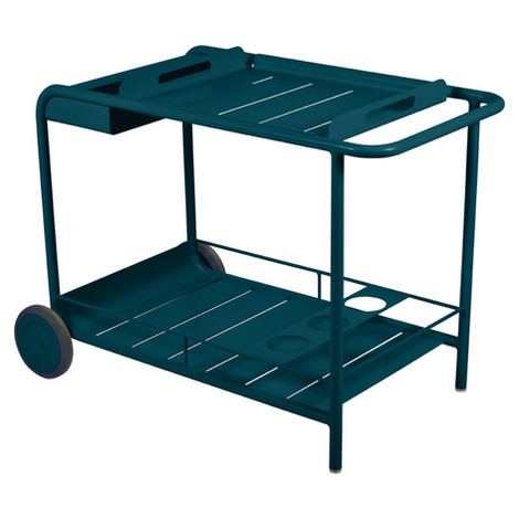 Luxembourg Wheeled Bar Cart