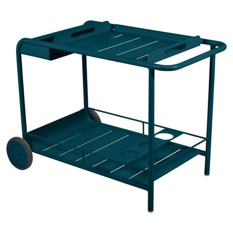 Luxembourg Wheeled Bar Cart