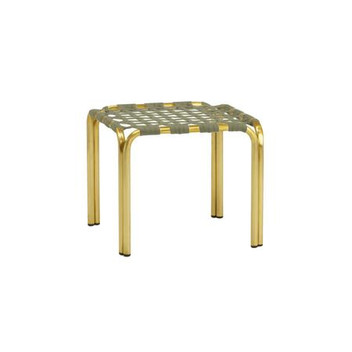 KANTAN BRASS STACKING STOOL / OCCASIONAL TABLE