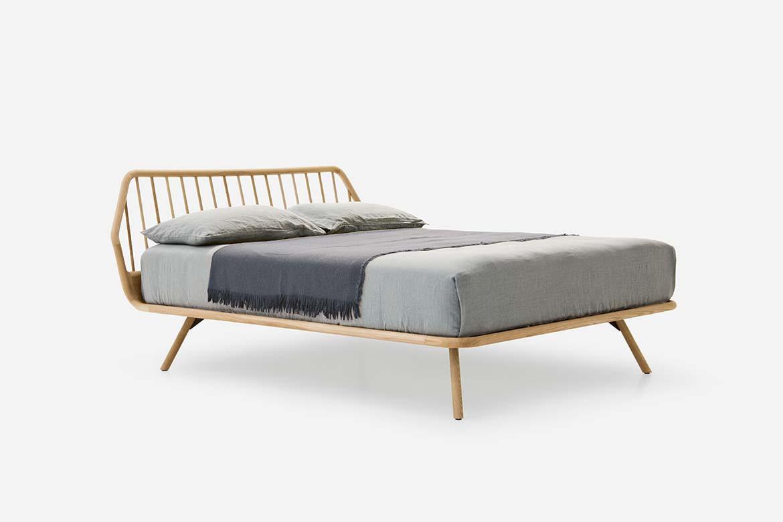 Trama Legno Bed